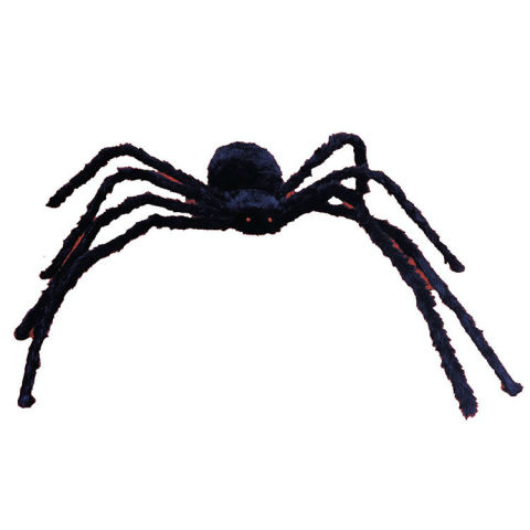 halloween express poseable hairy spider