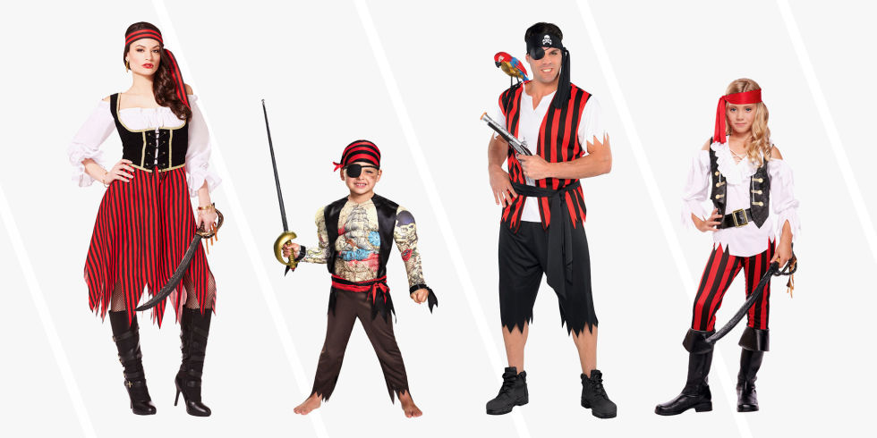 11 Best Pirate Costumes for Kids and Adults in 2017 - Halloween ...
