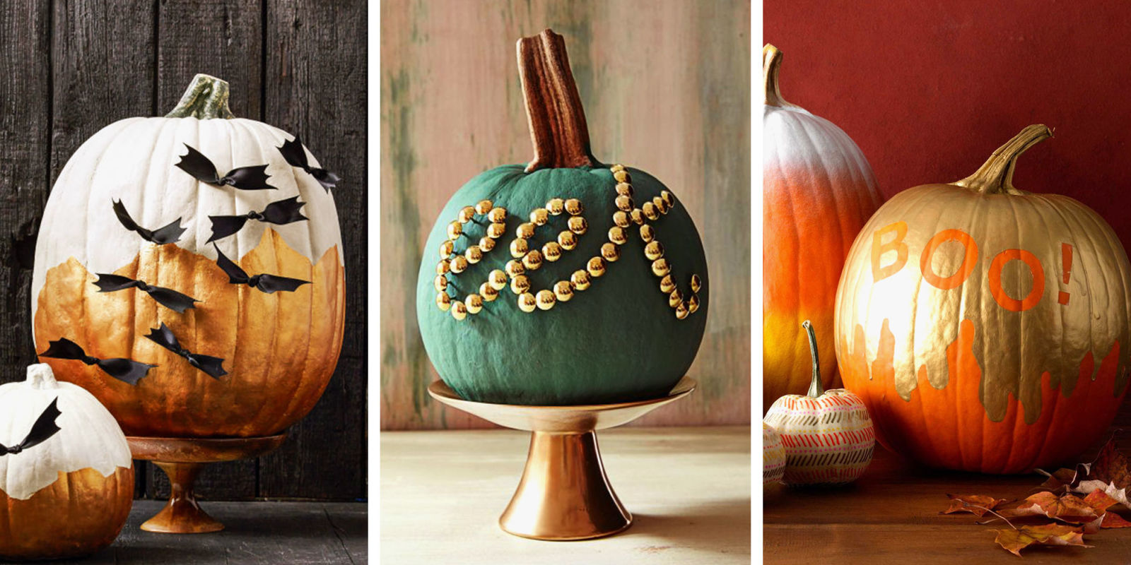 15 best pumpkin decorating ideas for halloween 2018 no carve pumpkin decorating ideas - Pumpkin decorating ideas autumnal decor ...