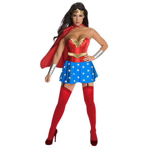wonder woman corset costume - Secy Halloween
