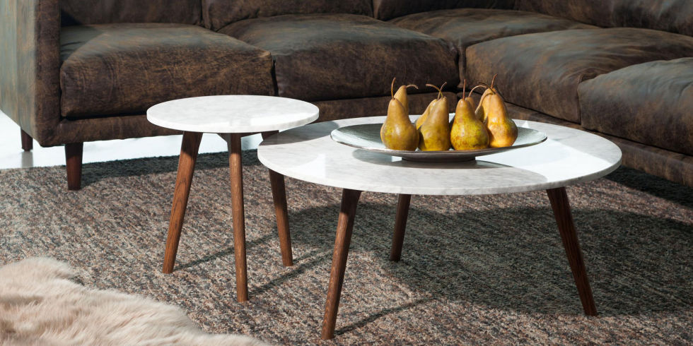 11 Best Round Coffee Tables for You Living Room in 2017 - Wood ...