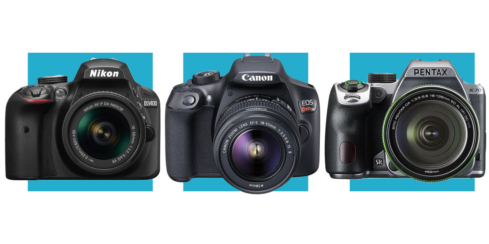7 Best Cheap DSLR Cameras 2018 - Digital SLR Cameras Under $1000