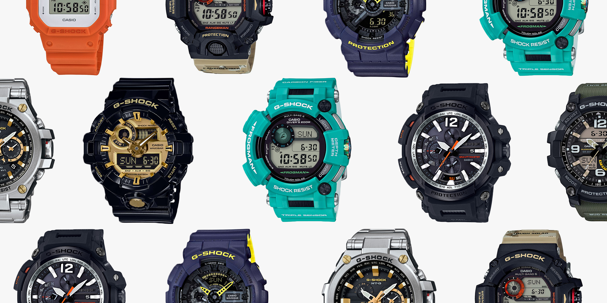 Top 10 Tech Cars To Watch For In 2018: 10 Best G SHOCK Watches For 2018
