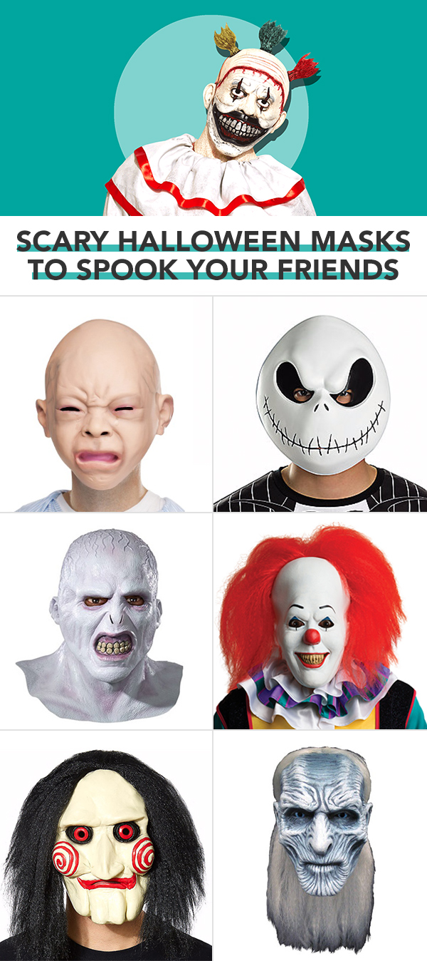 12 Best Halloween Masks for Adults in 2017 - Funny and Scary Masks ...