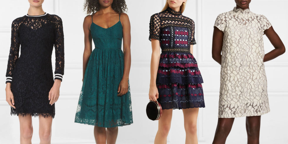 10 best lace dresses for fall 2017 and lace dresses