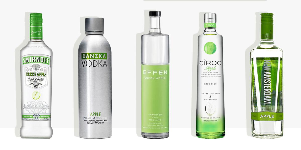 13 Best Apple Vodka Flavors for 2018 - Apple Flavored ...