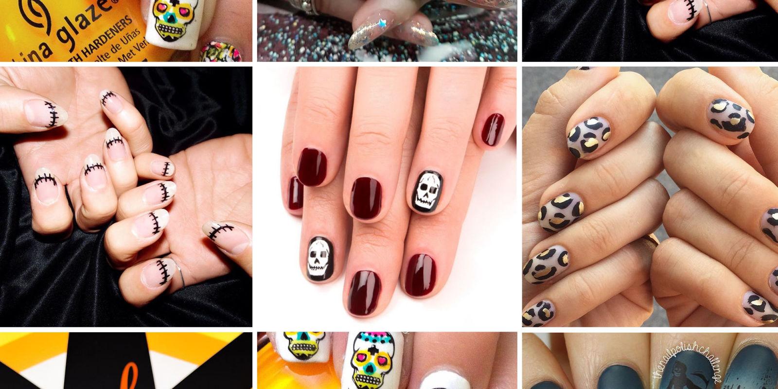 11 best halloween nail ideas u0026 inspiration halloween nail