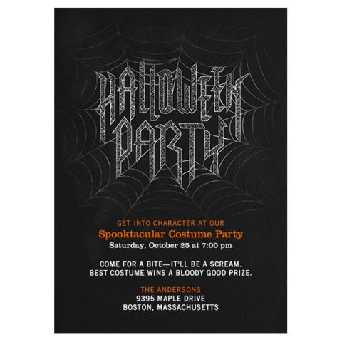 15 Best Halloween Invitations for 2017 Fun Halloween Party Invites – Halloween Party Invites