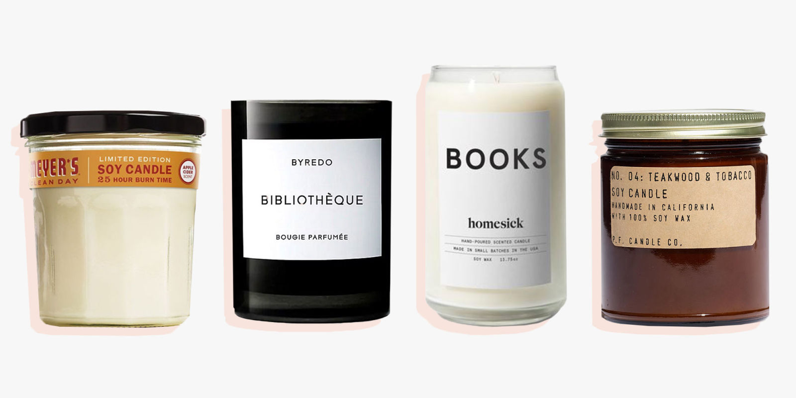 10 best scented candles for winter 2018 decorative for Best smelling home fragrances