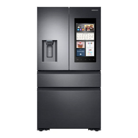 Attractive Samsung Family Hub With Recessed Handles French Door Refrigerator