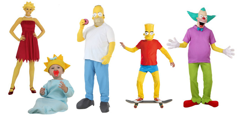 the simpsons - Simpson Halloween Costume