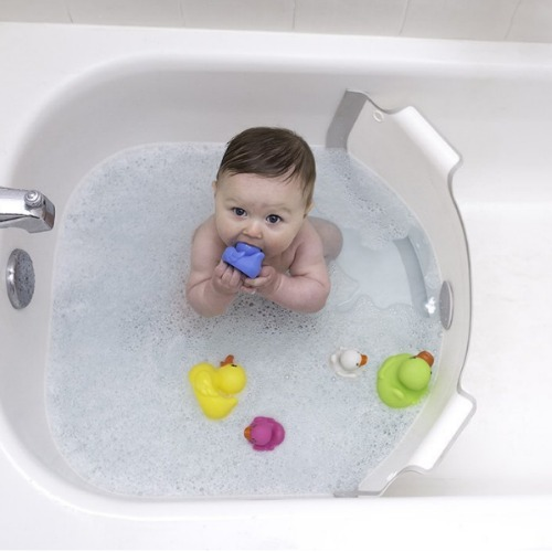 how to use infant bath tub