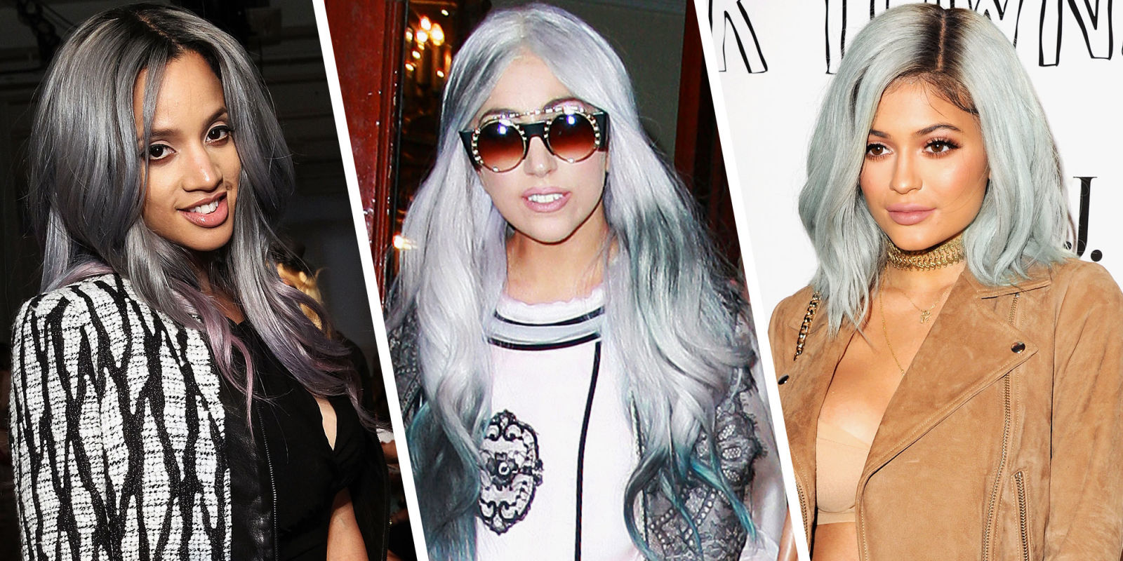how to achieve the grey hair color