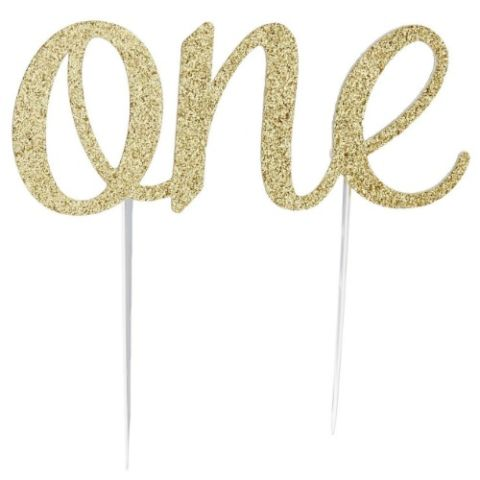 One Cake Topper Template