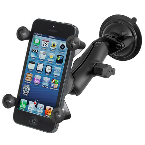 iphone holder for car. ram mount x-grip smartphone holder iphone for car