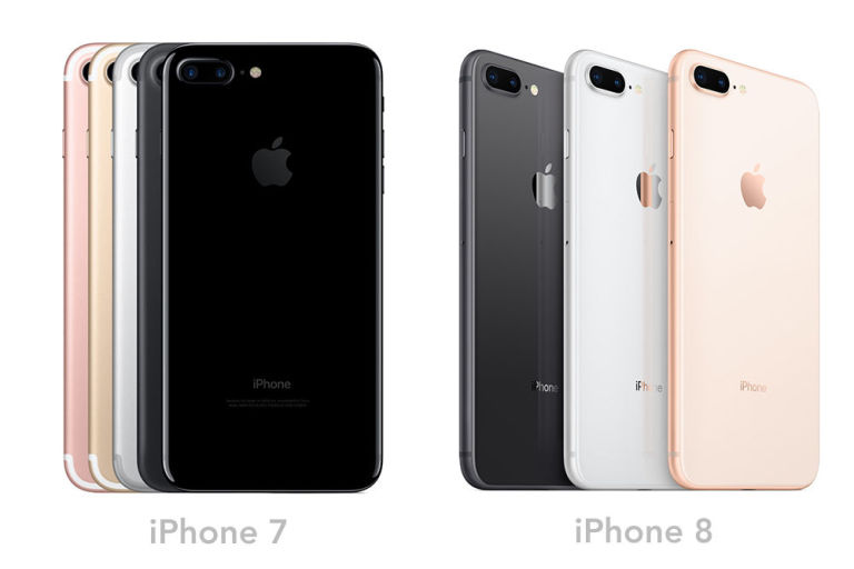 Iphone 7 And 8 Colors
