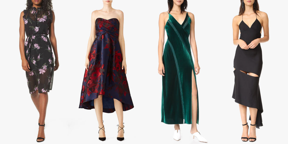 12 Best Wedding Guest Dresses for Winter 2018 - Stylish Dresses to ...