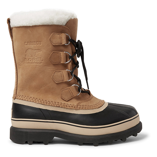 Stylish snow boots for men