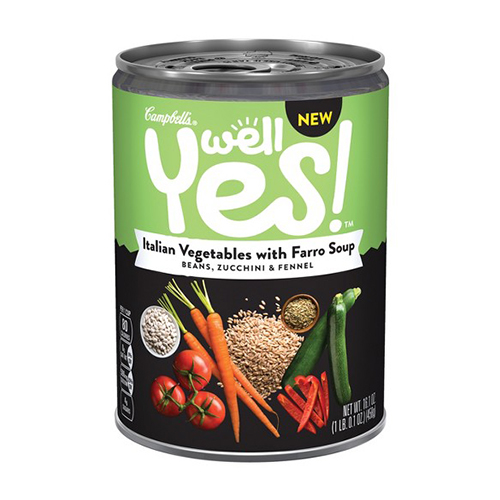 13 Best Canned Soups for Fall amp Winter 2018 Healthy Bean  : 1505841339 campbells well yes italian vegetables soup from www.bestproducts.com size 500 x 500 jpeg 109kB