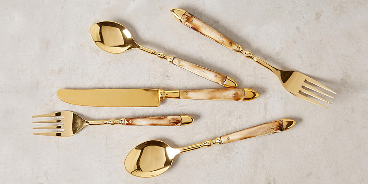 15 best silverware sets for your table in 2018 silverware and flatware sets - Funky flatware sets ...