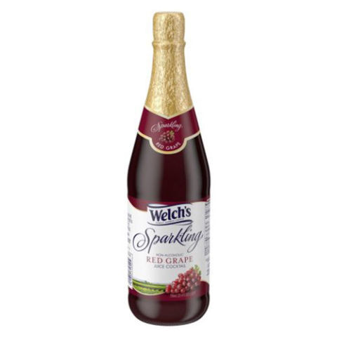 Welch S Bottled Sparkling Red Grape Juice Cocktail