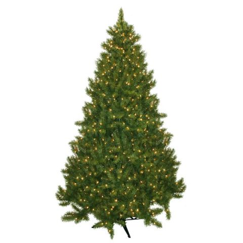 laurel foundry modern farmhouse 75 evergreen fir artificial christmas tree with 700 clear lights - Fake Christmas Tree
