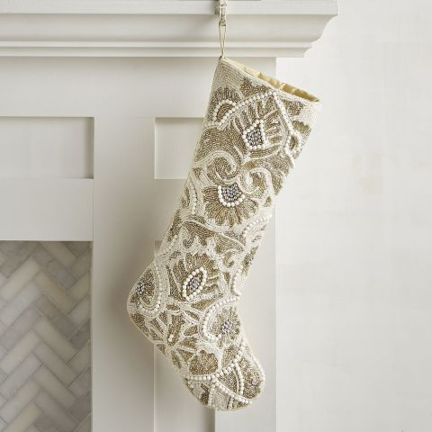 Crate And Barrel Christmas Stockings