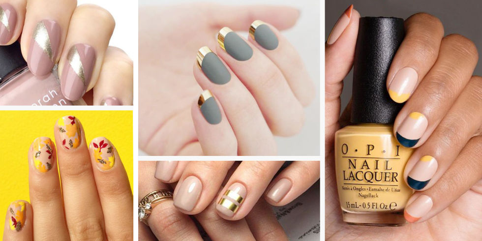12 best thanksgiving nail ideas for 2018 insta worthy fall and thanksgiving nail art ideas prinsesfo Choice Image