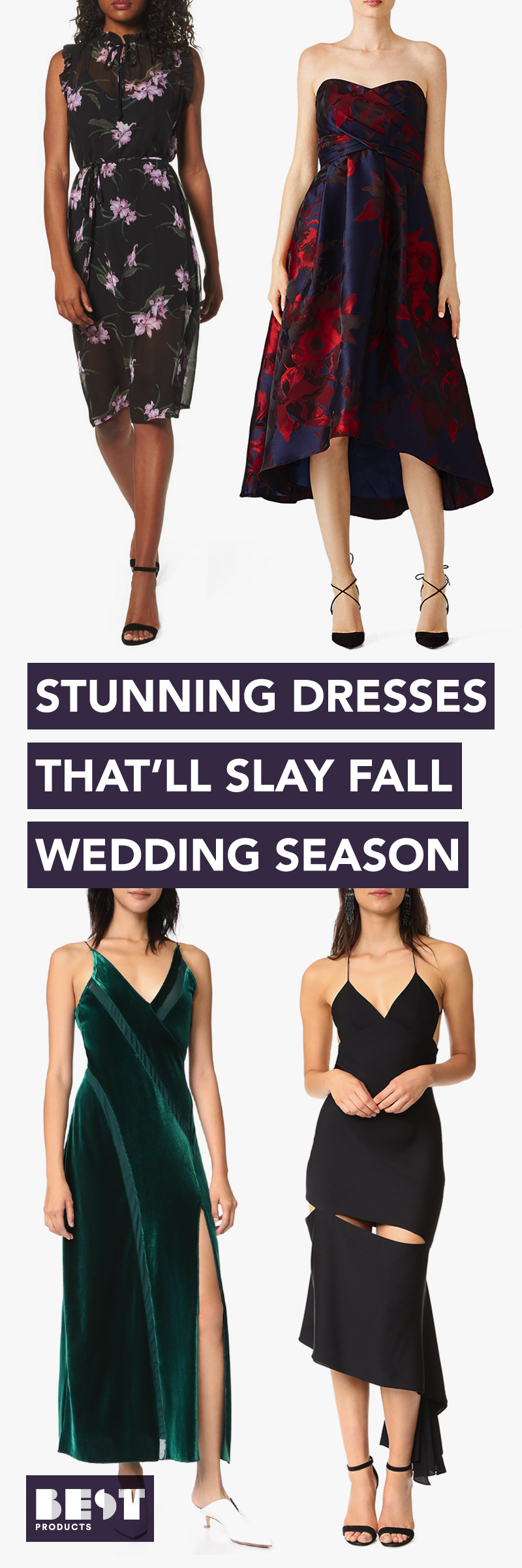 12 Best Wedding Guest Dresses For Winter 2018
