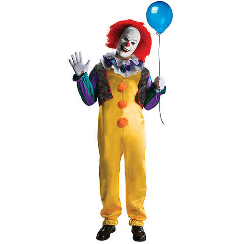 pennywise clown costume - 2017 Men Halloween Costume Ideas