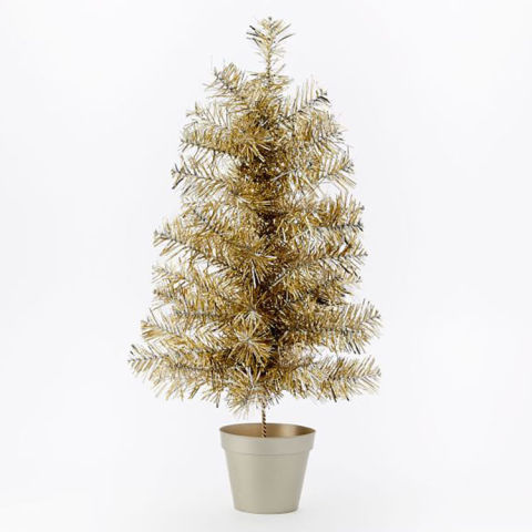 8 Best Gold Christmas Trees for 2017 - Gold Artificial Christmas Trees