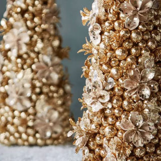 champagne wishes sugar plum dreams previous gold christmas trees - Gold Christmas Tree Lights