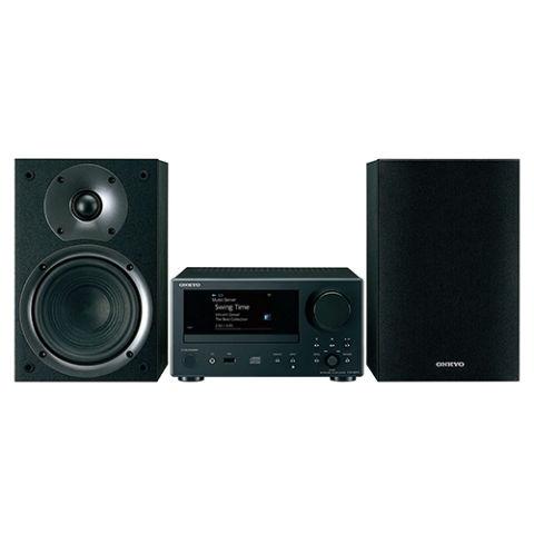onkyo bookshelf stereo system. onkyo cs-n575 40w network music system bookshelf stereo