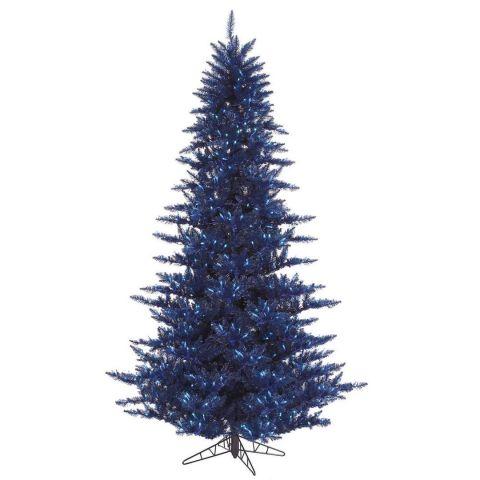 vickerman blue fir artificial christmas tree - Blue Christmas Tree