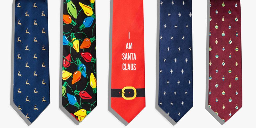 16 Best Christmas Ties for Men in 2018 - Mens Holiday & Christmas Ties