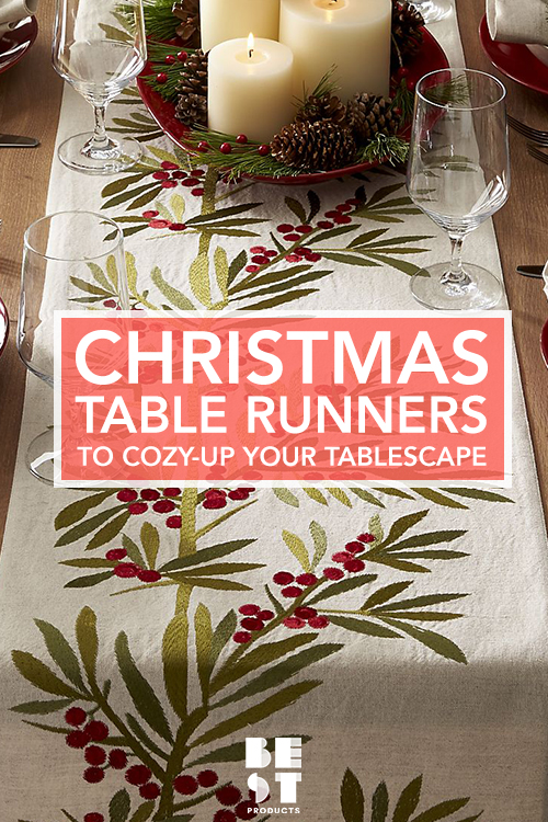 11 Best Christmas Table Runners And Linens In 2017   Festive .