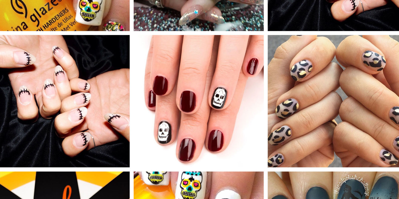 11 best halloween nail ideas u0026 inspiration 2017 halloween nail