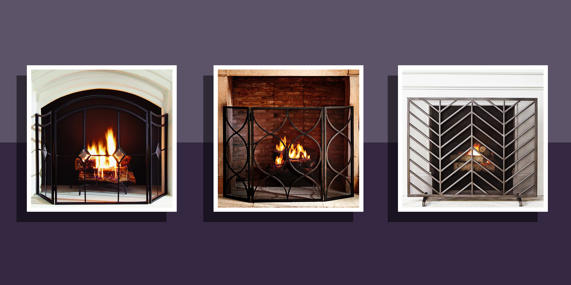 10 Best Fireplace Screens For Winter 2018 Decorative: decorative fireplace covers