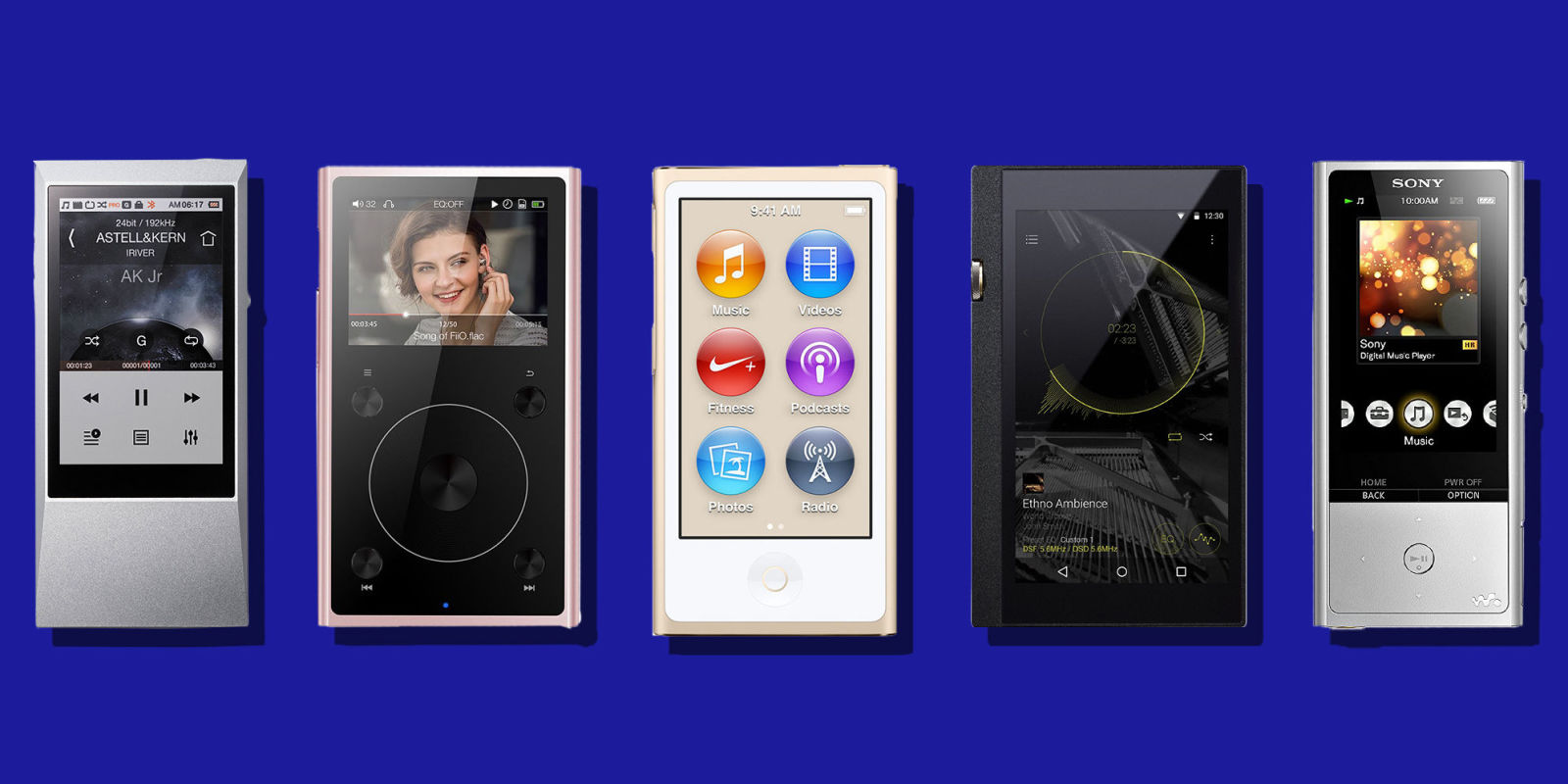 18 Best Mp3 Players For 2018 Reviews Of Top Mp3 Player