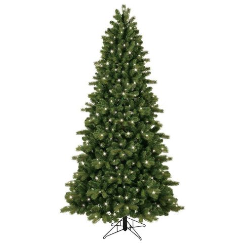 pre lit led energy smart just cut colorado spruce artificial - Best Fake Christmas Trees