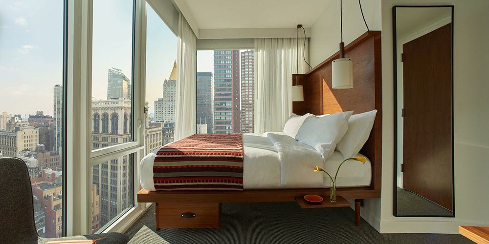11 best nyc hotels in 2018 cheap luxury boutique for Modern hotels near me