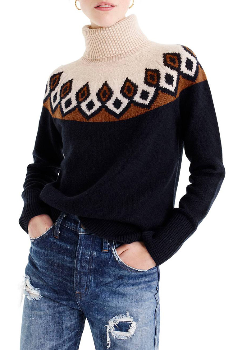 10 Best Fair Isle Sweaters For Winter 2018 Fair Isle