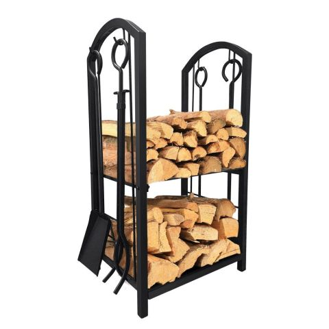 14 Best Firewood Racks for Winter 2018 - Indoor Firewood Log Holders