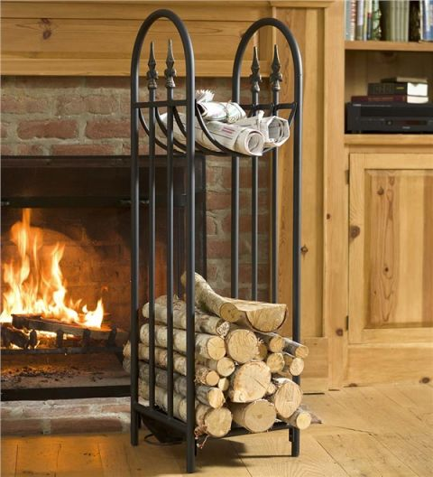 14 Best Firewood Racks for Winter 2017 - Indoor Firewood Log Holders