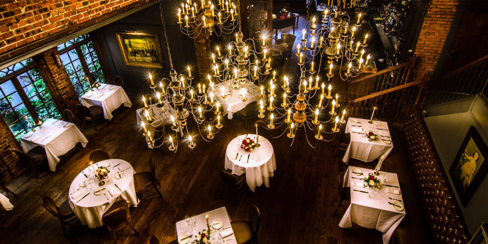 romantic restaurants nyc