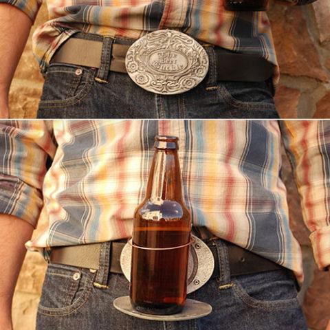 Cinturon porta cervezas