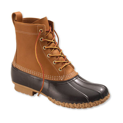 Duck boots are a design that everyone can enjoy; browse styles for men, women, juniors and kids, and nobody needs to have wet feet in rainy weather again. Boots in the duck design are versatile; men might pair casual boots in the duck style with a pair of jeans for an outfit tough enough to weather the storm.