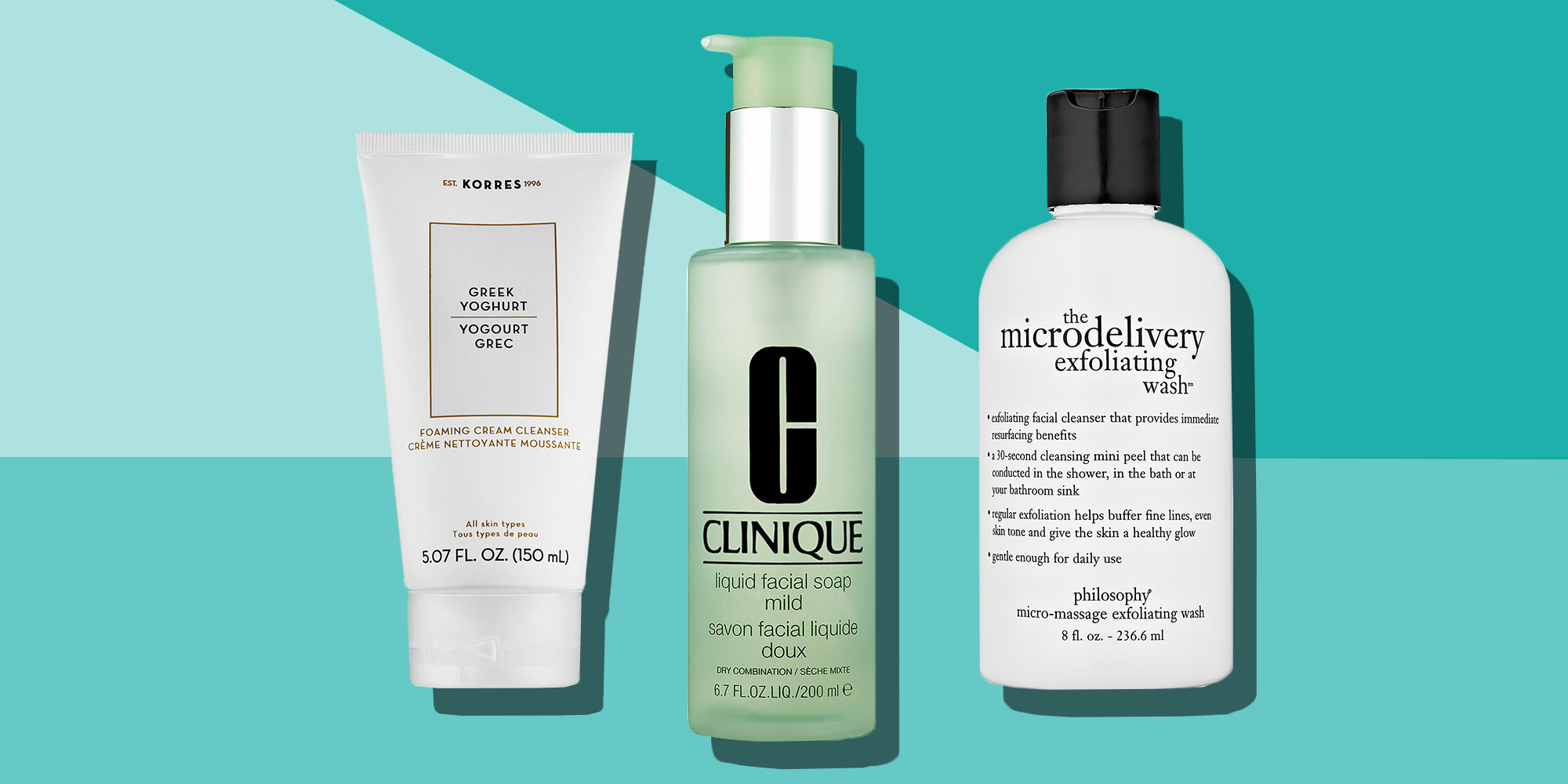 10 Best Face Washes For Cleaner Skin In 2018 Cleansers