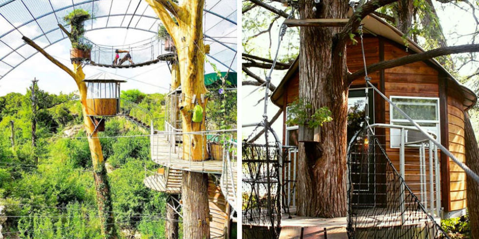 Cypress Valley Canopy Tours Has A Treehouse Hotel Near Austin Texas