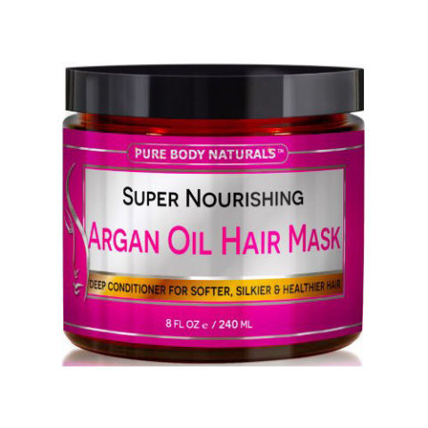 Pure Body Naturals Super Nourishing Argan Oil Hair Mask